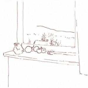 Ablak a lelkigyakorlatos házban