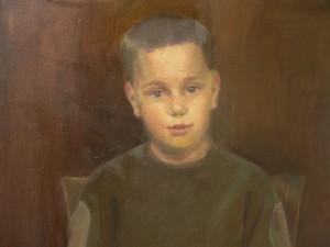 János kilenc évesen