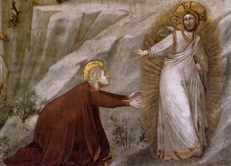 Noli me tangere (Assisi, alsó templom)
