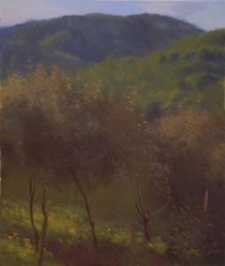 Bodor Z.: Gyümölcsfák (olaj, vászon, 70x60cm) 2013.