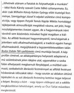 és az ehhez tartozó szöveg P. Szabó Ernőtől
